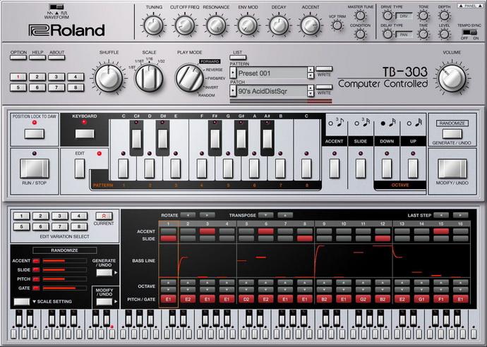 Vst MIDI Синтезатор Roland - Quxyv