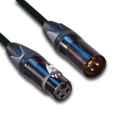 1. XLR female - XLR male