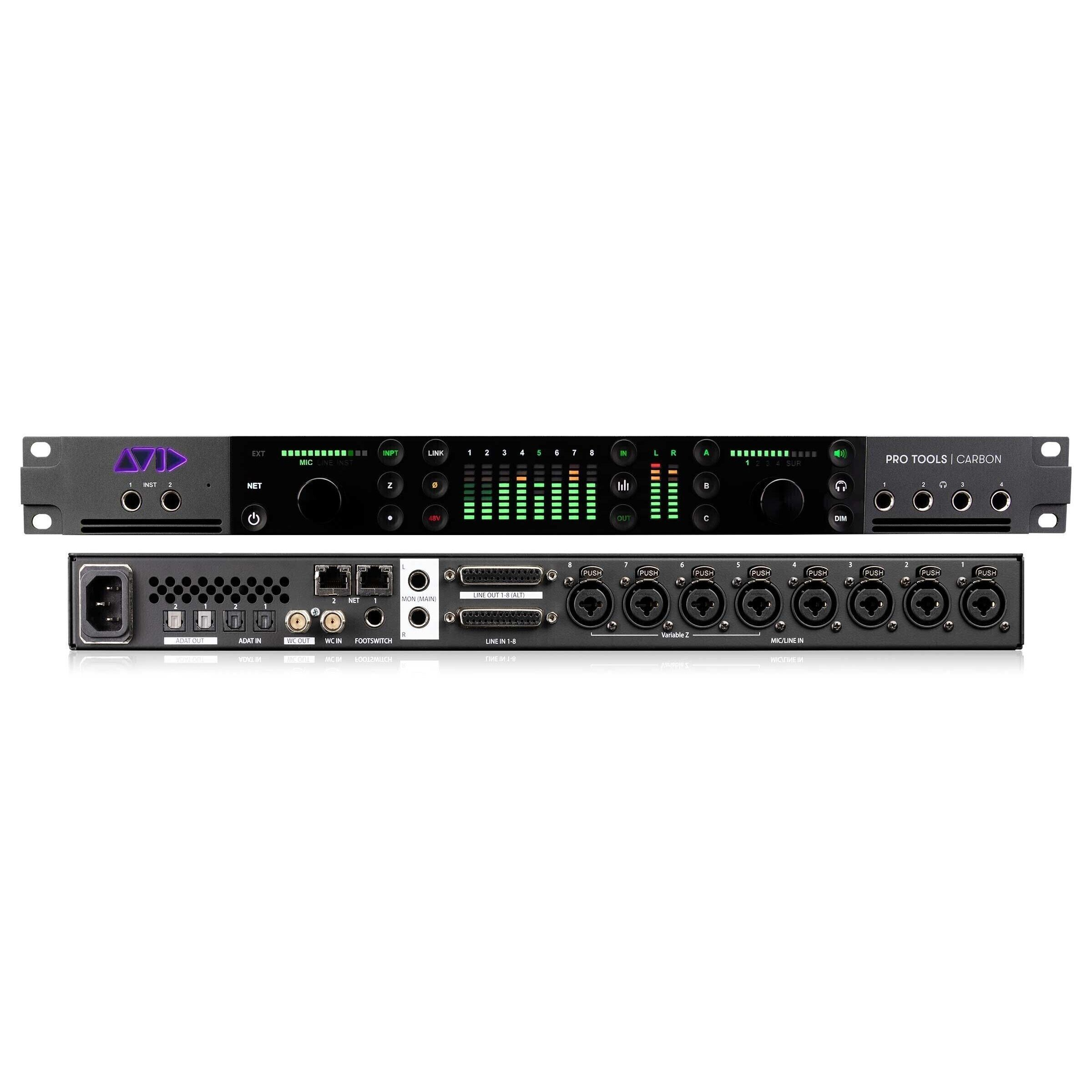 Avid Pro Tools Carbon Hybrid Audio Production System (Europe version) Звуковые карты Thunderbolt