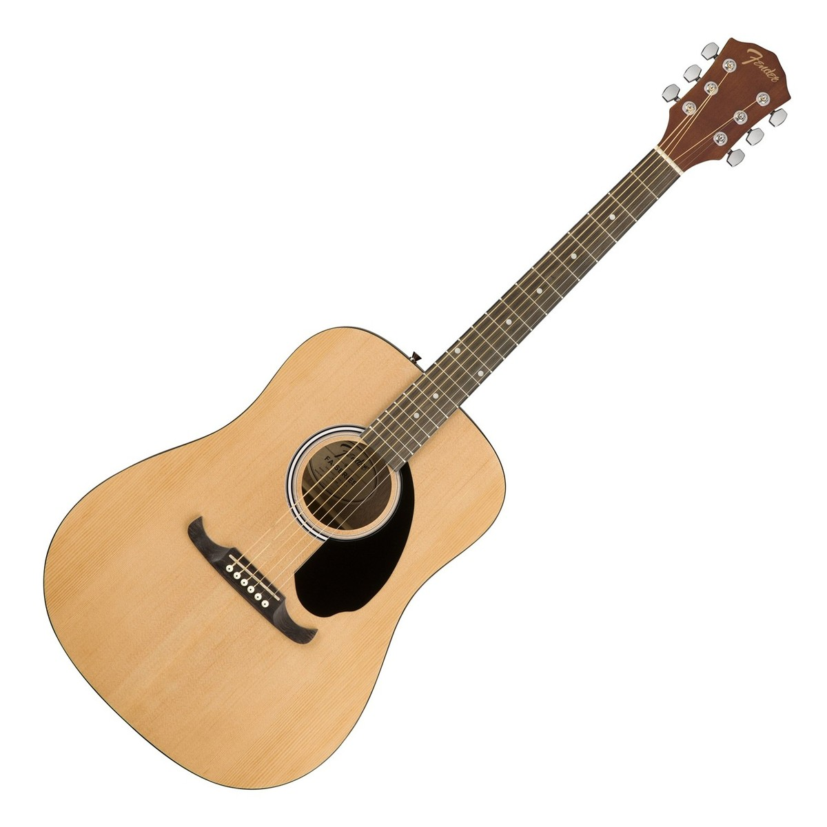 Fender FA-125 Dreadnought Acoustic, Natural Акустические гитары