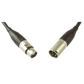 Кабель XLR female - XLR male Amphenol - длина на заказ 1. XLR female - XLR male