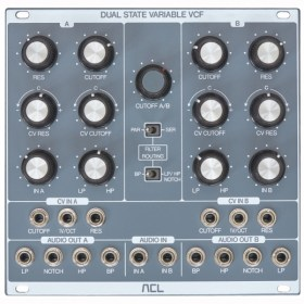 ACL - Dual State Variable VCF Eurorack модули