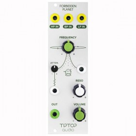 Tiptop Audio Forbidden Planet Analog Filter Eurorack модули