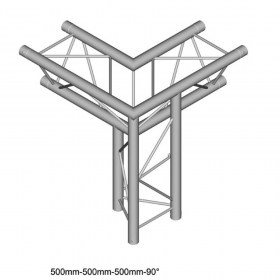 Dura Truss DT 23 C34-LD 3way corner 90 Фермы для света