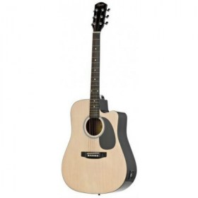 FENDER SQUIER SA-105CE DREADNOUGHT NAT W/FISHMAN PREAMP Акустические гитары