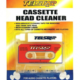 Clean Sound Cassette Cleaner Cleaning Cassette+Tape Head Cleaner DJ Аксессуары