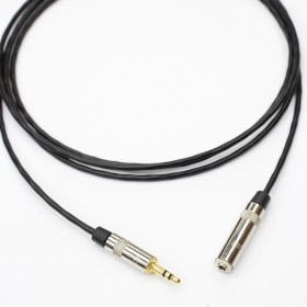 Удлинитель minijack 3.5 mm stereo - minijack 3.5 mm female stereo Rean - длина на заказ minijack 3.5 mm stereo - minijack 3.5 mm female stereo