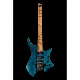 Strandberg Boden Standard 6 Tremolo Maple Flame Blue Электрогитары